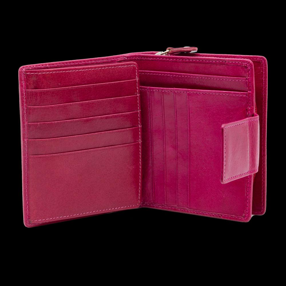 Portemonnaie hoch mit Reissverschlussfach
