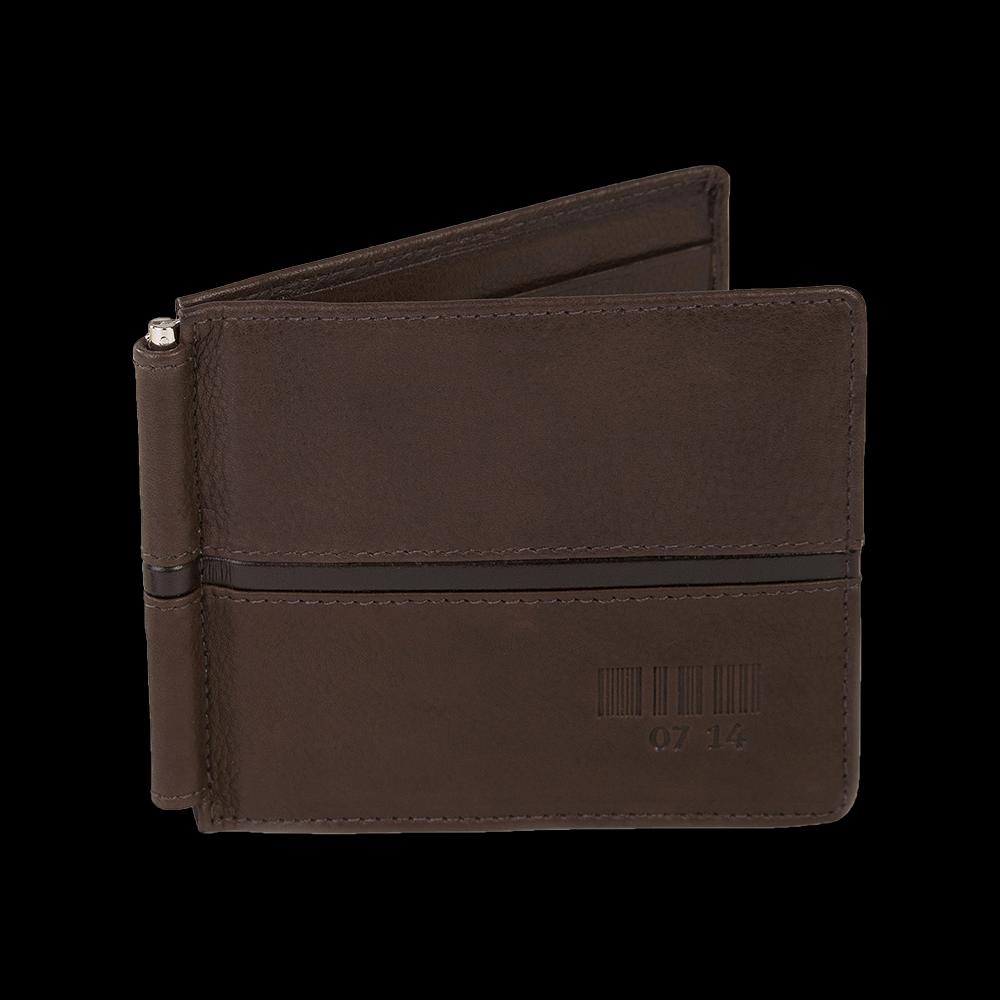 Noten-/Kreditkartenetui mit Clip