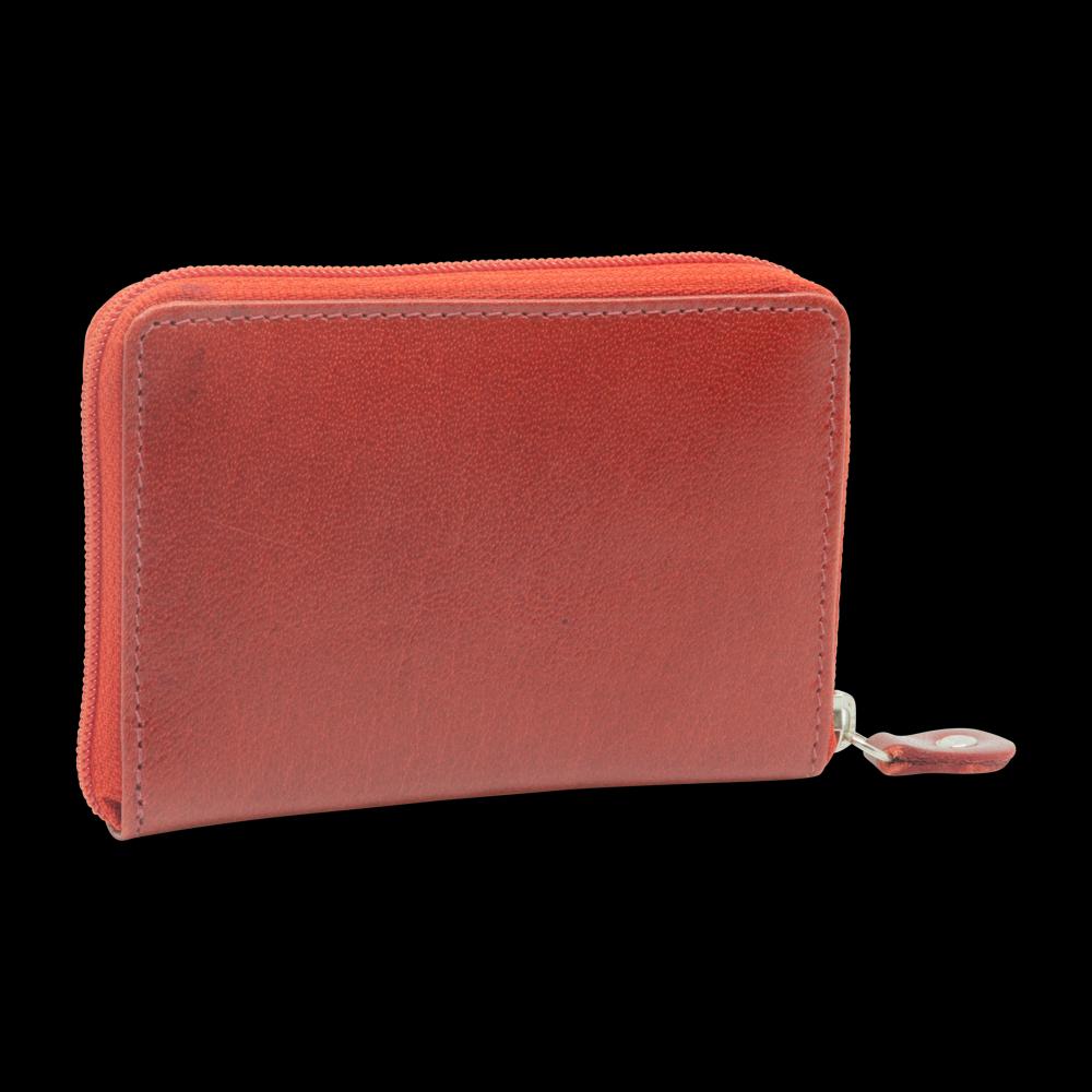 Kreditkartenetui mit Reissverschluss