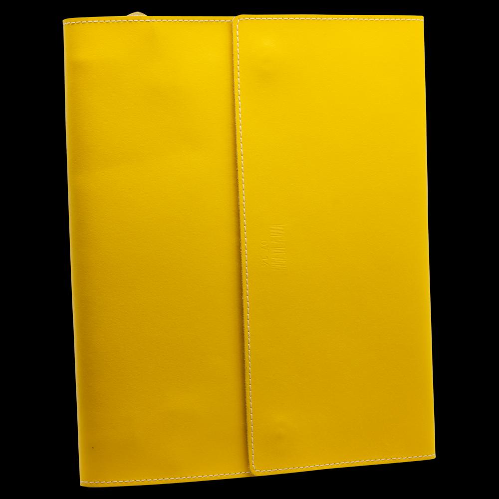 iPad-Etui mit Fach für Schreibblock DIN A5